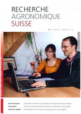 recherche agronomique suisse